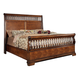 Fairfax Home Furnishings Waverly Place Queen Panel Bed in Rich Cherry