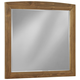 All-American Transitions Landscape Mirror in Dark Oak