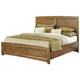 All-American Transitions Queen Panel Bed in Dark Oak