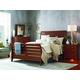Kincaid Homecoming Cumberland Sleigh Bedroom Set in Vintage Cherry