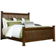 Broyhill Estes Park Queen Poster Bed in Artisan Oak 4364