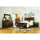 Broyhill Estes Park Panel Bedroom Set in Artisan Oak
