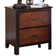 New Classic Bishop Nightstand in Chestnut & Ginger 00-145-040