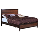 New Classic Bishop Queen Panel Bed in Chestnut & Ginger