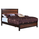 New Classic Bishop California King Panel Bed in Chestnut & Ginger