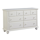 Broyhill Seabrooke Drawer Dresser in Cream 4471-230