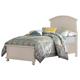 Broyhill Seabrooke Twin Panel Bed in Cream 4471