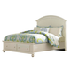 Broyhill Seabrooke California King Panel Bed with Footboard Storage in Cream 4471