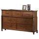 New Classic Clark's Crossing Dresser in African Honey 00-139-050