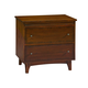 Broyhill Mardella 2-Drawer Nightstand in Warm Cognac 4277-292