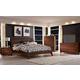 Broyhill Mardella Bedroom Set in Warm Cognac