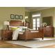 Broyhill Attic Heirlooms Feather Bedroom Set in Rustic Oak