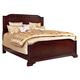 Broyhill Elaina Queen Panel Bed in Rustic Cherry 4640