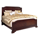 Broyhill Elaina King Panel Bed in Rustic Cherry 4640