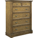 Broyhill New Vintage 6 Drawer Chest in Vintage Brown 4808-240