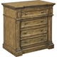 Broyhill New Vintage 4 Drawer Night Stand in Vintage Brown 4808-293