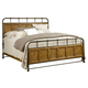 Broyhill New Vintage California King Bedstead Bed in Vintage Brown