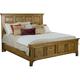 Broyhill New Vintage King Panel Bed in Vintage Brown