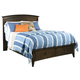 Kincaid Gatherings Arch Queen Storage Bed in Molasses Finish