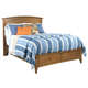 Kincaid Gatherings Arch King Storage Bed in Honey Finish