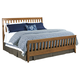 Kincaid Gatherings Slat Queen Bed in Honey Finish 44-2710P