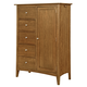 Kincaid Gatherings Lancaster Door Chest in Honey Finish 44-1111