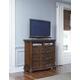 Pulaski Furniture Cheswick Media Chest in Brown 729145