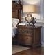 Pulaski Furniture Cheswick Nightstand in Brown 729140 CLEARANCE