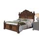 Pulaski Furniture Cheswick Queen Poster Bed in Brown 729150Q