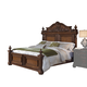 Pulaski Furniture Cheswick California King Poster Bed in Brown 729160CK CLEARANCE