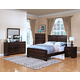New Classic Garrett Panel Bedroom Set in Chestnut