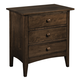 Kincaid Gatherings Nightstand in Molasses Finish 44-0031