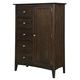 Kincaid Gatherings Lancaster Door Chest in Molasses Finish 44-1131