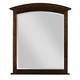 Kincaid Gatherings Arch Mirror in Molasses Finish 44-1830