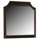 New Classic Highland Park Mirror in Distressed Walnut 00-128-060