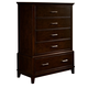New Classic Highland Park Chest in Distressed Walnut 00-128-070