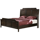 New Classic Highland Park Queen Sleigh Bed in Distressed Walnut