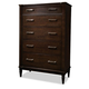 Durham Furniture Metro East Drawer Chest 139-155