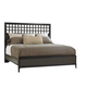 Stanley Wicker Park California King Wood Panel Bed in Brownstone 409-13-46 CLOSEOUT