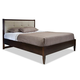 Durham Furniture Metro East King Low Fabric  Panel Bed Complete 139-145