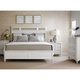 Stanley Cypress Grove Wood Panel Bedroom Set in Parchment