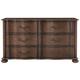 Bernhardt Eaton Square Six Drawer Dresser in Harvest Brown 352-043
