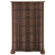 Bernhardt Eaton Square Tall Chest in Harvest Brown 352-116