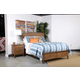 Kincaid Gatherings Arch Storage Bedroom Set in Honey
