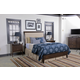 Kincaid Gatherings Meridian Bedroom Set in Molasses