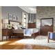 Kincaid Gatherings Meridian Storage Bedroom Set in Molasses