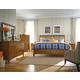 Kincaid Gatherings Slat Storage Bedroom Set in Honey