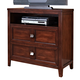 New Classic Ridgecrest Media Chest in Distressed Walnut 00-131-078