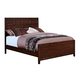New Classic Ridgecrest California King Panel Bed in Distressed Walnut