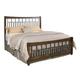 Kincaid Bedford Park Elements King Bed in Hazelnut